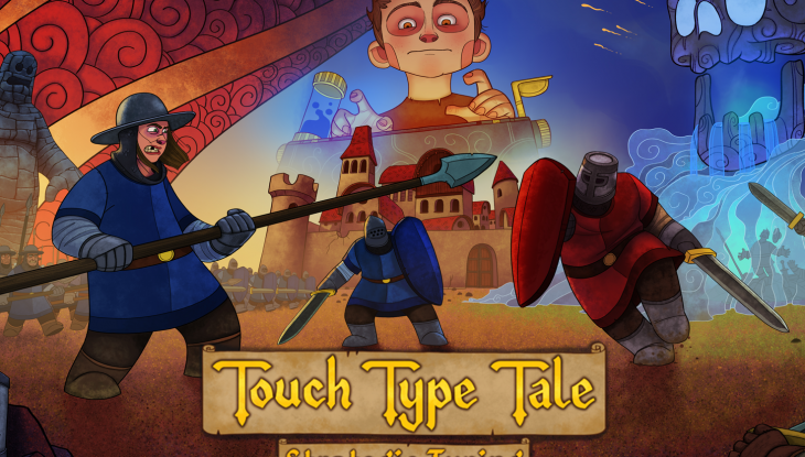 Touch Type Tale - Key Art