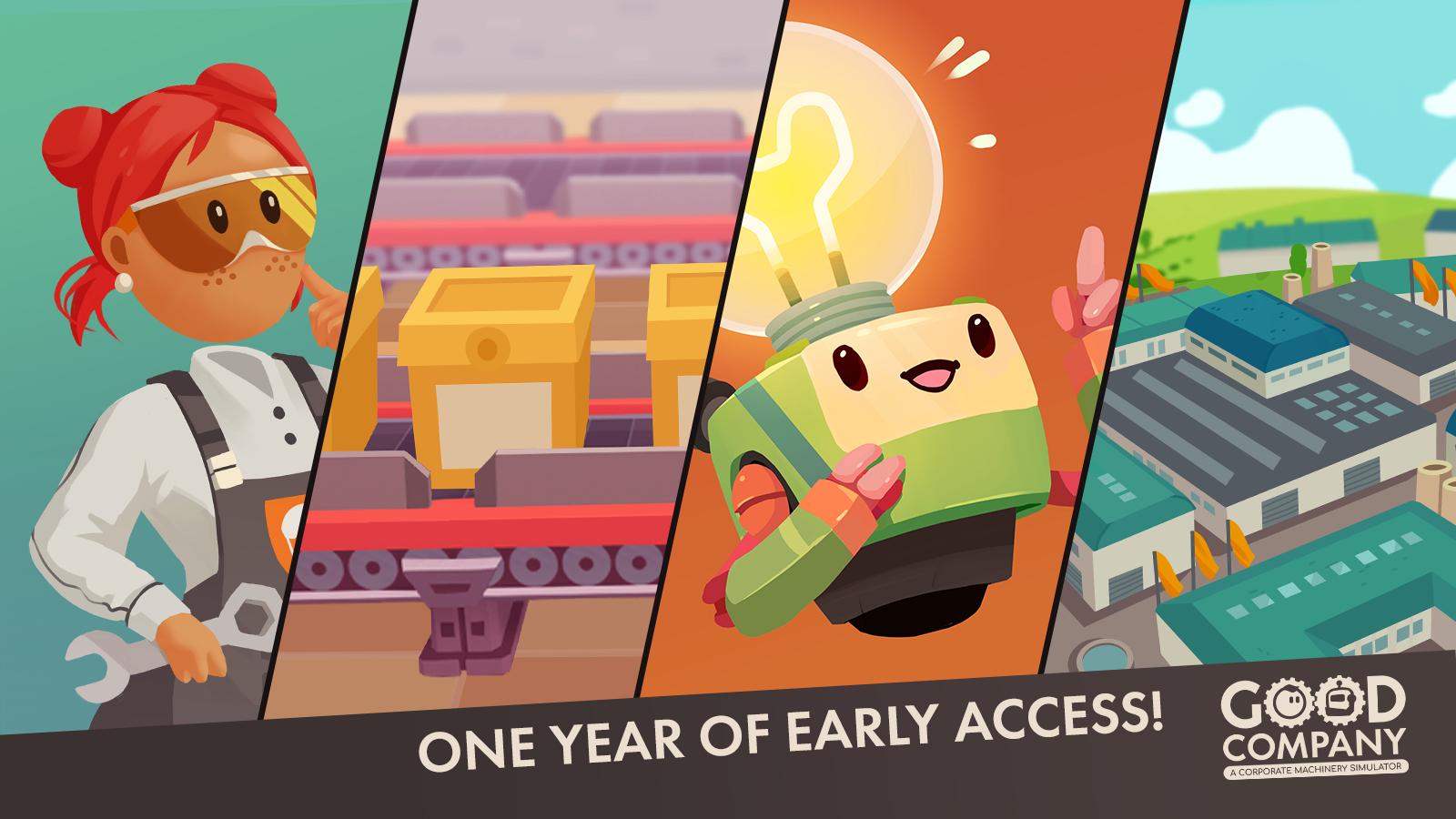1 Year EA Anniversary - Key Art